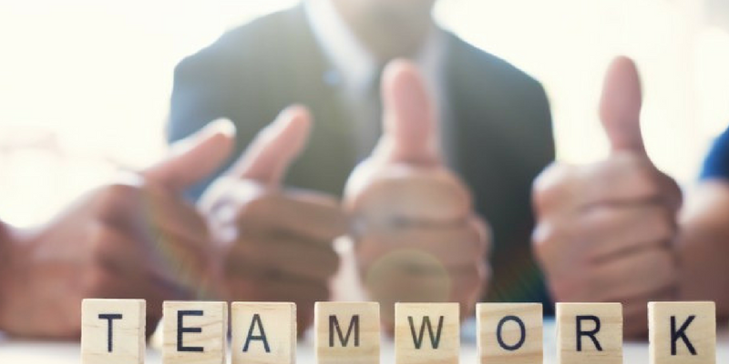 Inculcates team spirit - Benefits of Personality Development Training